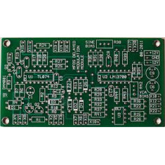 MFOS Delayed Modulation Synth Module Bare PCB